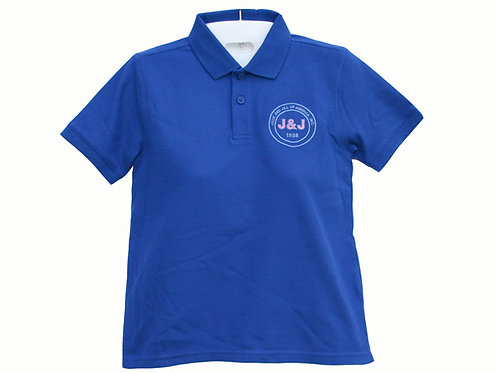 J&J-804-Youth Short Sleeve Polo Shirt