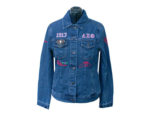 DST-703-Denim Jacket