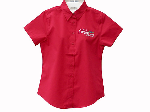 DST-505-Short Sleeve Button Shirt