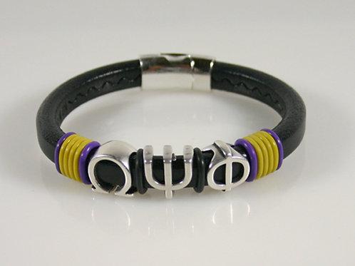 OPP-001-Leather Slider Bracelet