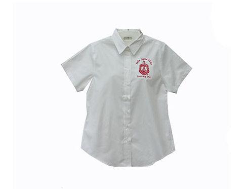 DST-509-Short Sleeve Button Shirt- Shield