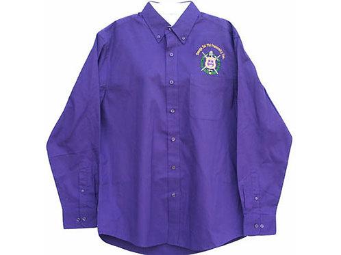 OPP-006-Button Collar Shirt (Long Sleeve)