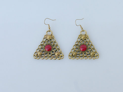 DST-210-Pyramid Earrings