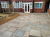 Indian Stone Driveway, Landscaping, Stockport Cheshire