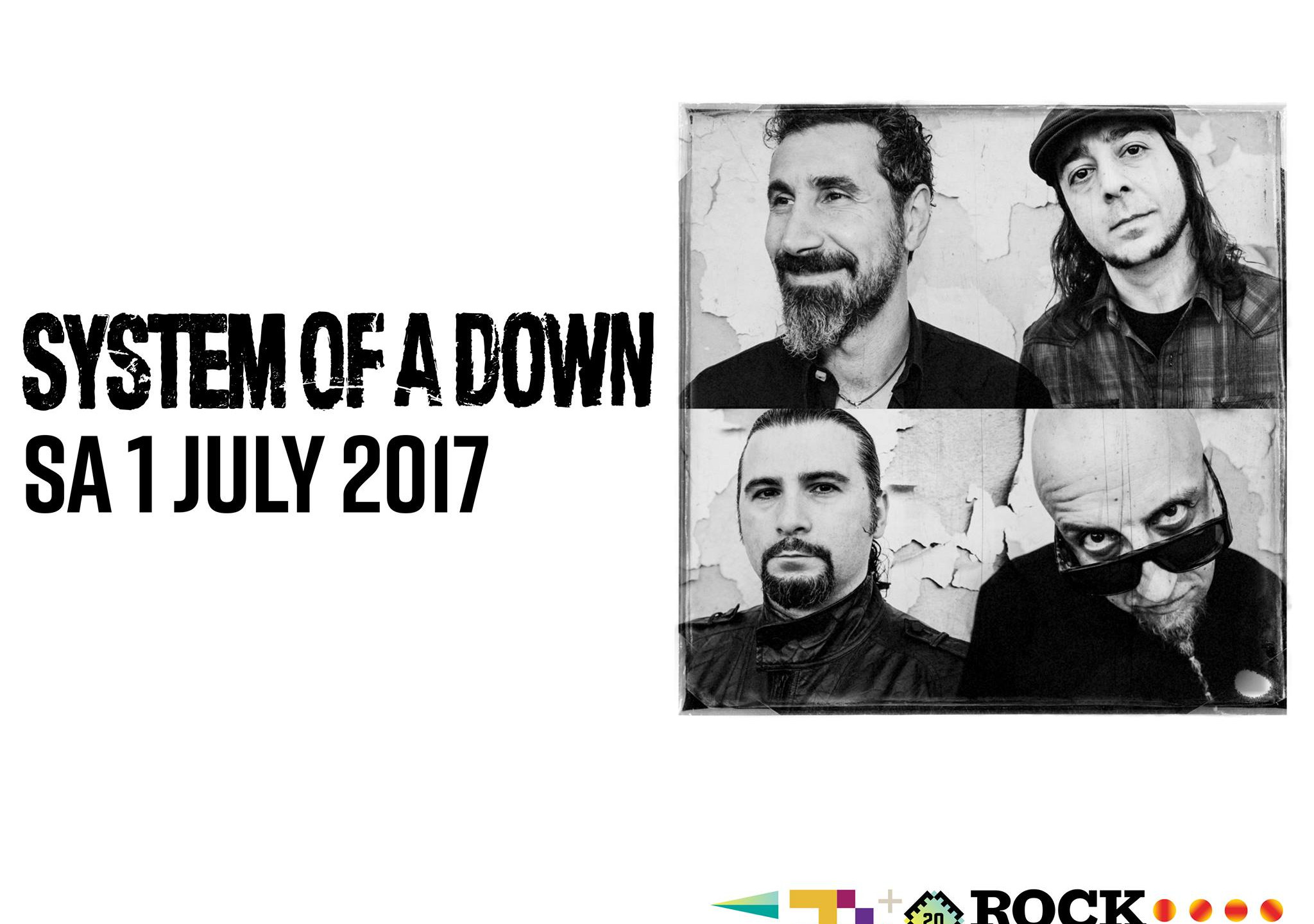 System of A Down, Rock Werchter 2017