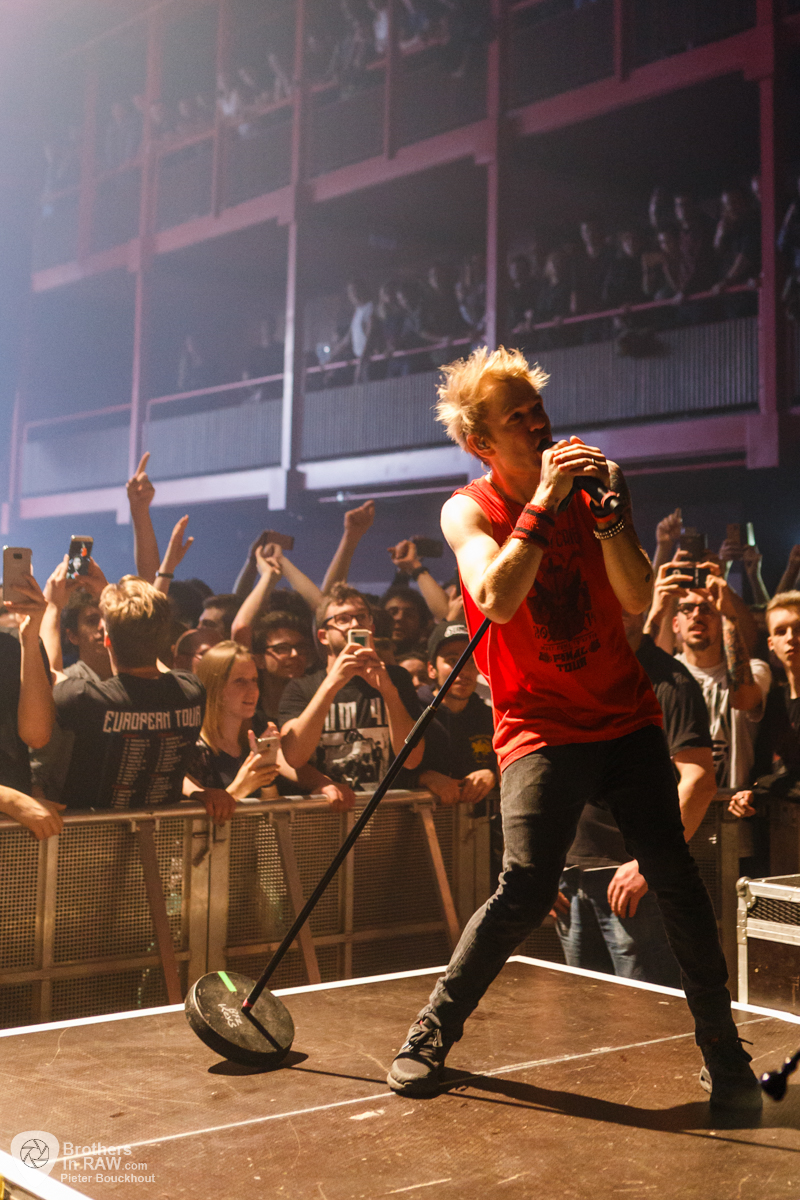 Sum 41, Live at AB, Brussels