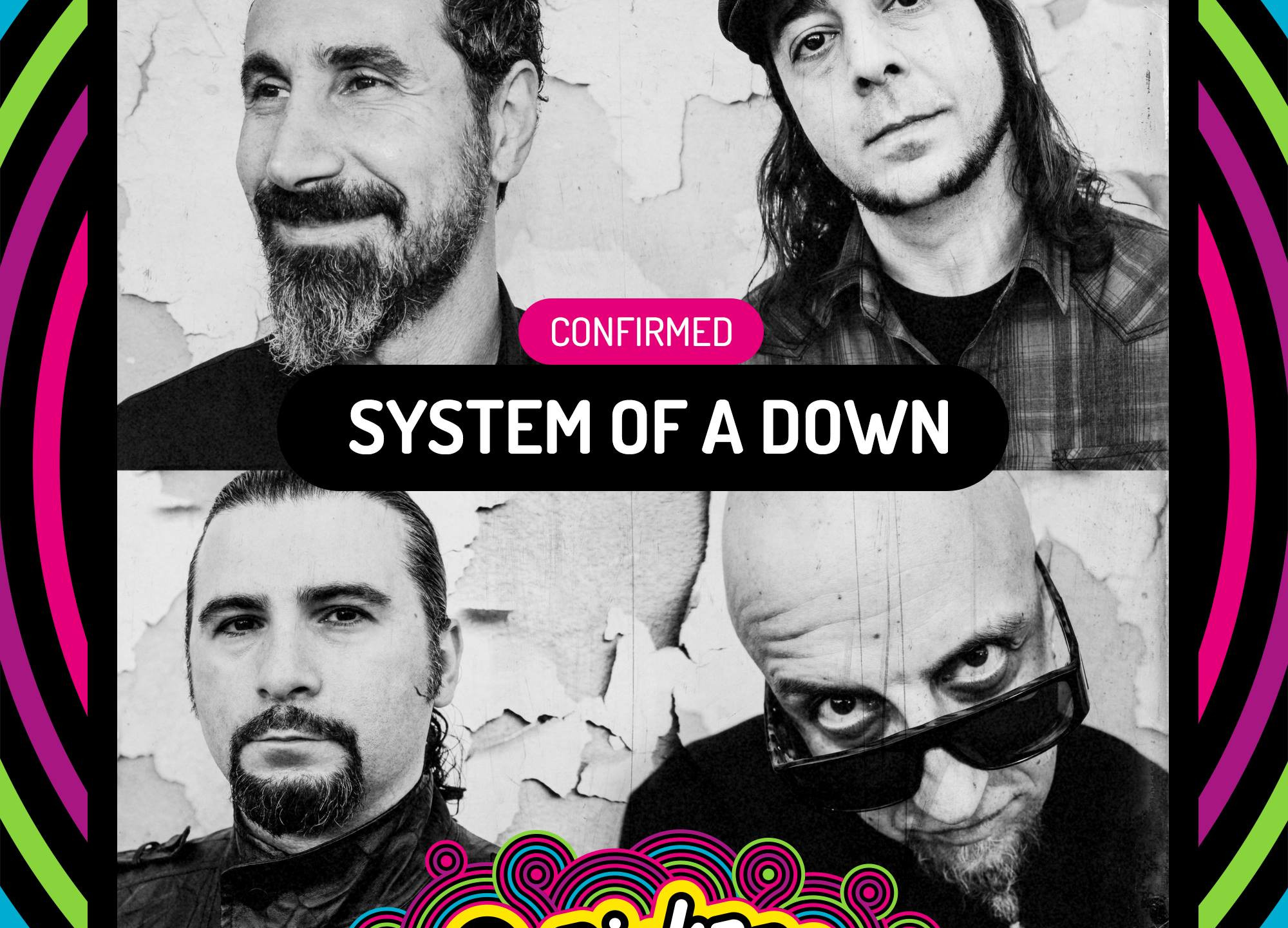 System of A Down - Pinkpop