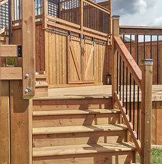 Edmonton Deck Builder - Detailed Trimwork