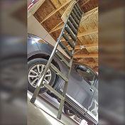 Edmonton Garage Attic Ladder