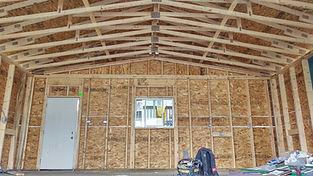 Edmonton Garage Vaulted Ceiling