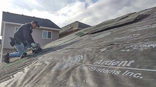 Edmonton Garage Roof Underlay