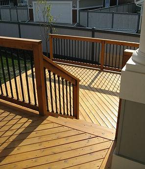 Edmonton Cedar Deck