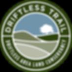 DriftlessTrail logo transparent backgrou