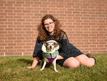 Welcome new Student Board member, Grace Trenkamp