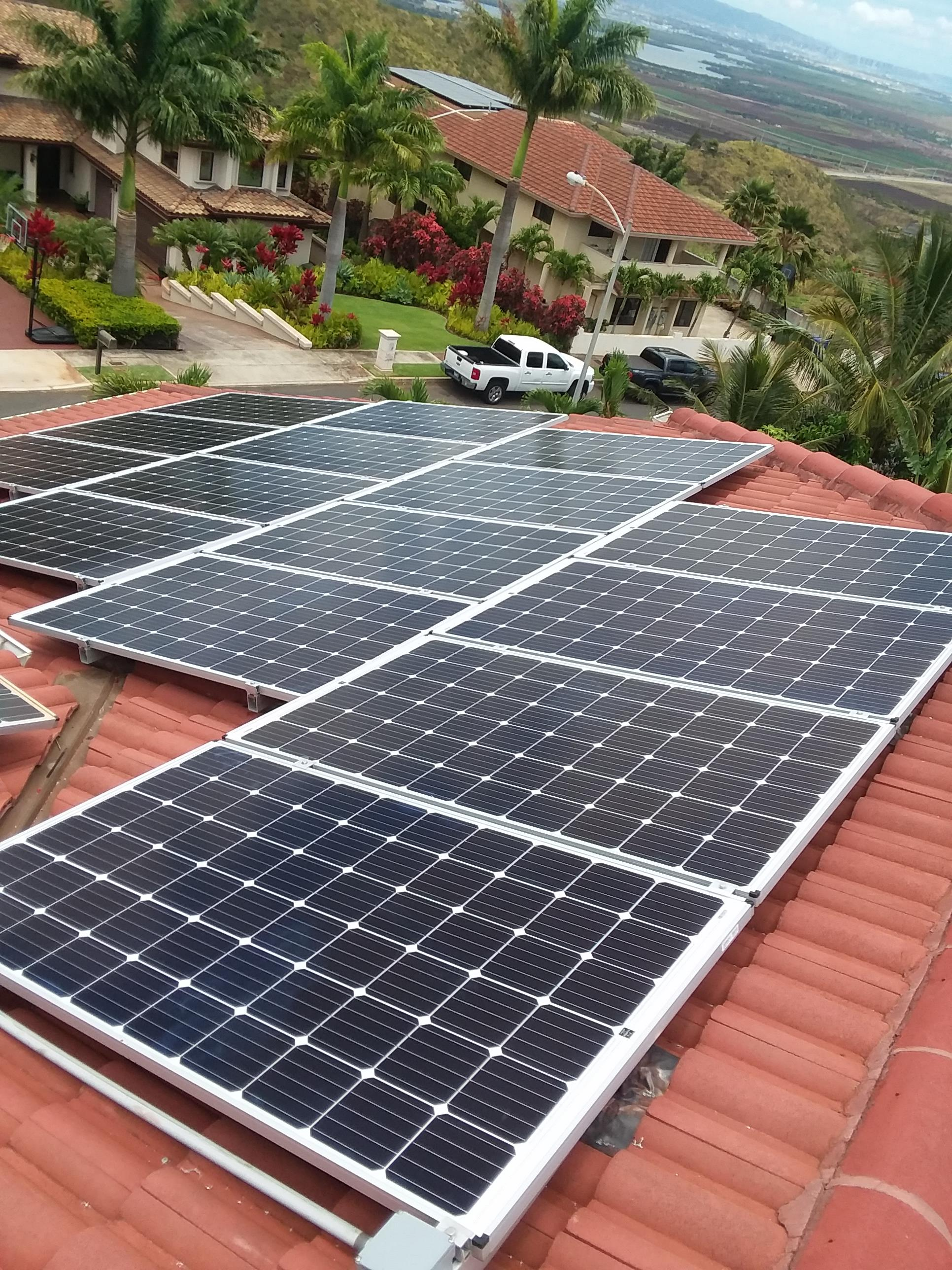PV panels in Makakilo