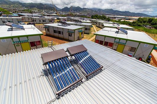 homeless families  shelter in Kahauiki v
