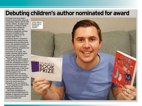 Hertfordshire Mercury - The People's Book Prize