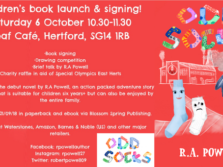 Book launch and signing!