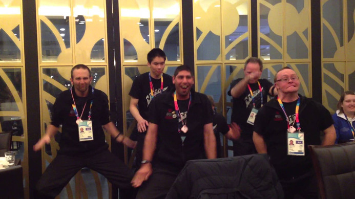 Special Olympics New Zealand - performing the Haka in South Korea! (2013)