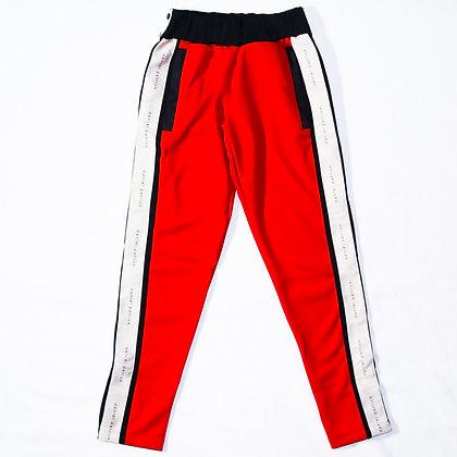 Daniel Patrick / Snap Track Pant Red / XSサイズ