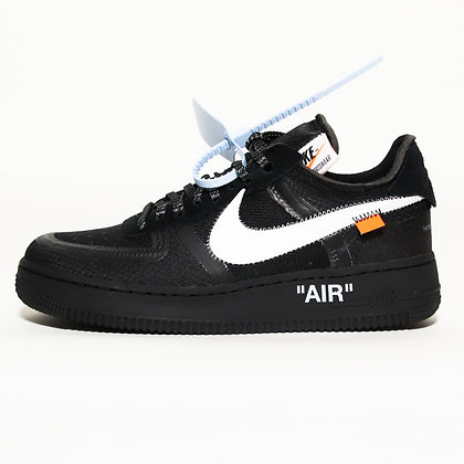 Nike × Off-White / Air Force 1 Low Black / 28cm