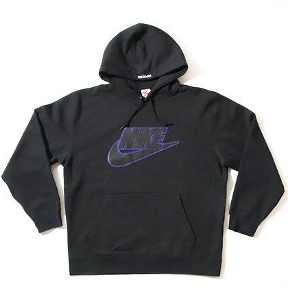 Supreme × Nike / Leather Applique Black / XLサイズ