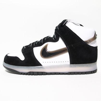 Nike × Slam Jam  / Dunk High Black White / 28cm
