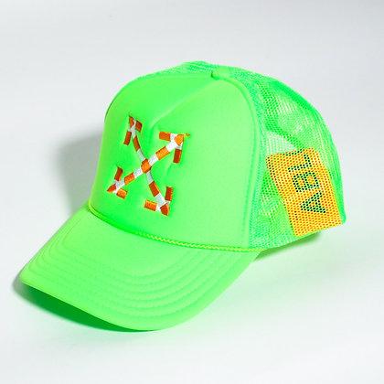 Virgil Abloh x MCA Figures of Speech Arrows Trucker Hat Green