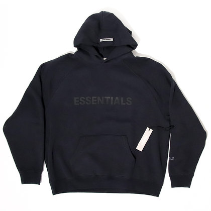 Fear Of God Essentials × SSENSE / Pullover Hoodie Applique Logo Navy / XLサイズ