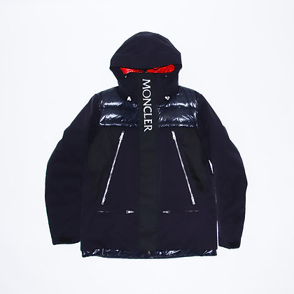Kith × Moncler / Parrachee Long Down Jacket Navy / XLサイズ