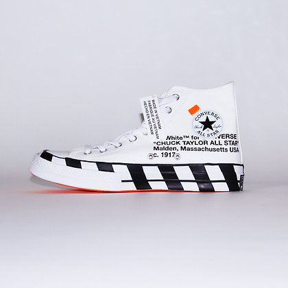 Converse × Off-White / Chuck Taylor All-Star 70s Hi / 27cm