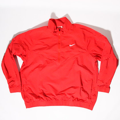 Nike × Stussy / Windrunner Jacket Habanero Red / Lサイズ