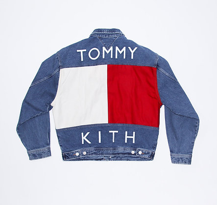 Kith × Tommy Hilfiger / Denim Trucker Jacket Vintage / Sサイズ