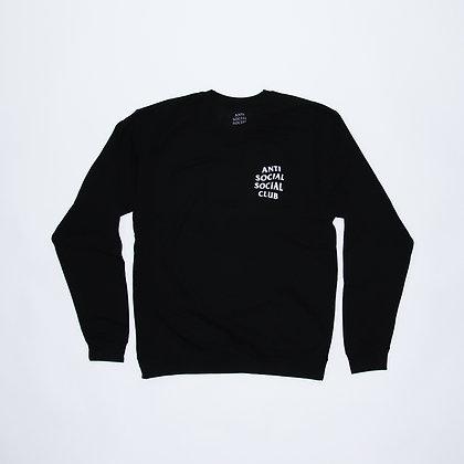 Anti Social Social Club / Crewneck Black / Lサイズ