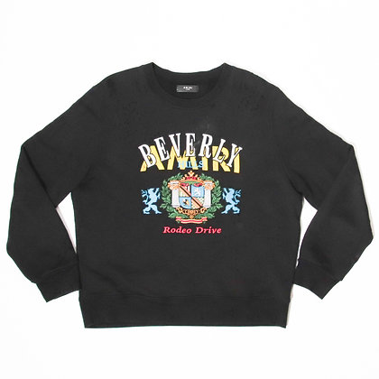 Amiri /Beverly Hills Embroidered Logo Crewneck / XLサイズ / 中古品