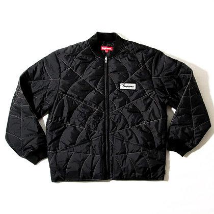 Supreme / Spider Web Quilted Work Jacket / Lサイズ