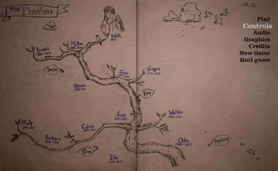 What Remains of Edith Finch: Genealogy in the Most Unlikely of Places