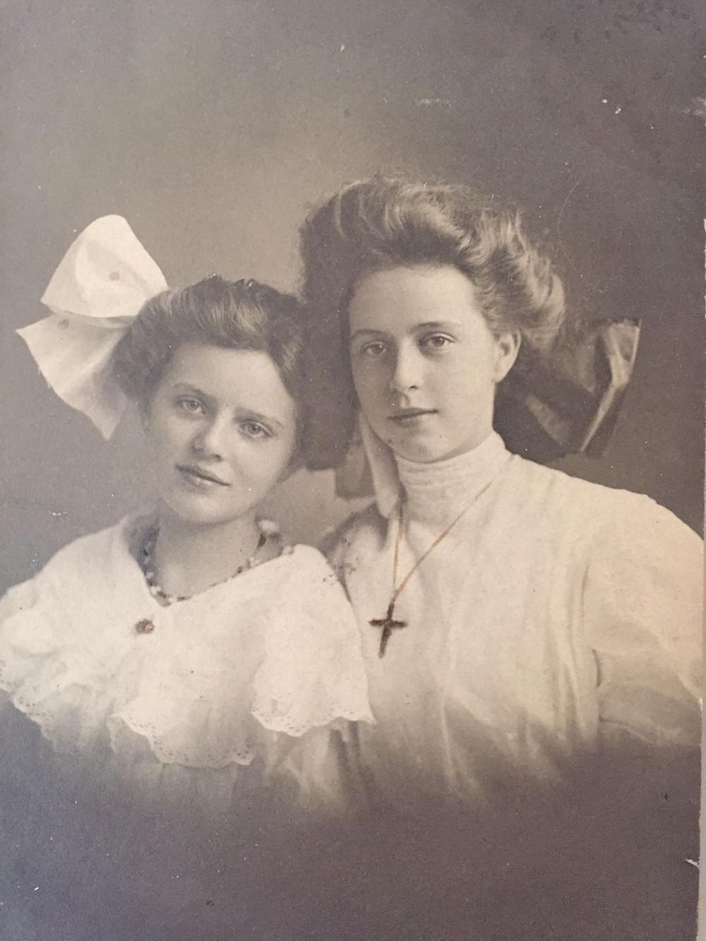 Grandpa's half-sisters