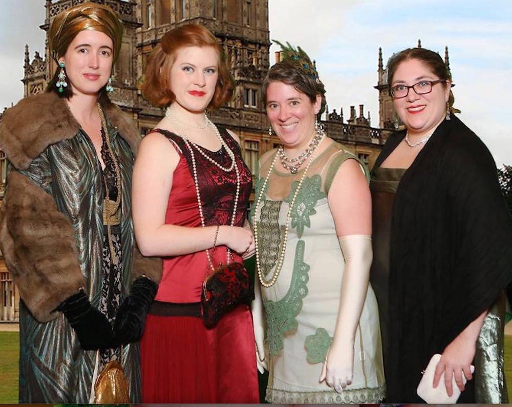 Storytellers in post-Edwardian garb
