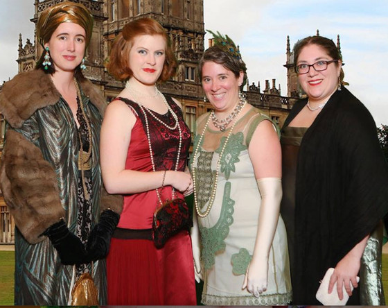 Chronos Storytellers at an Evening at Downton Abbey
