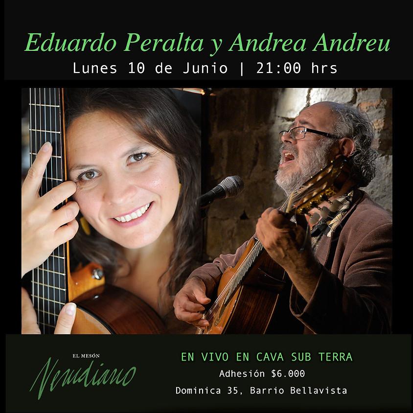 EDUARDO PERALTA Y ANDREA ANDREU
