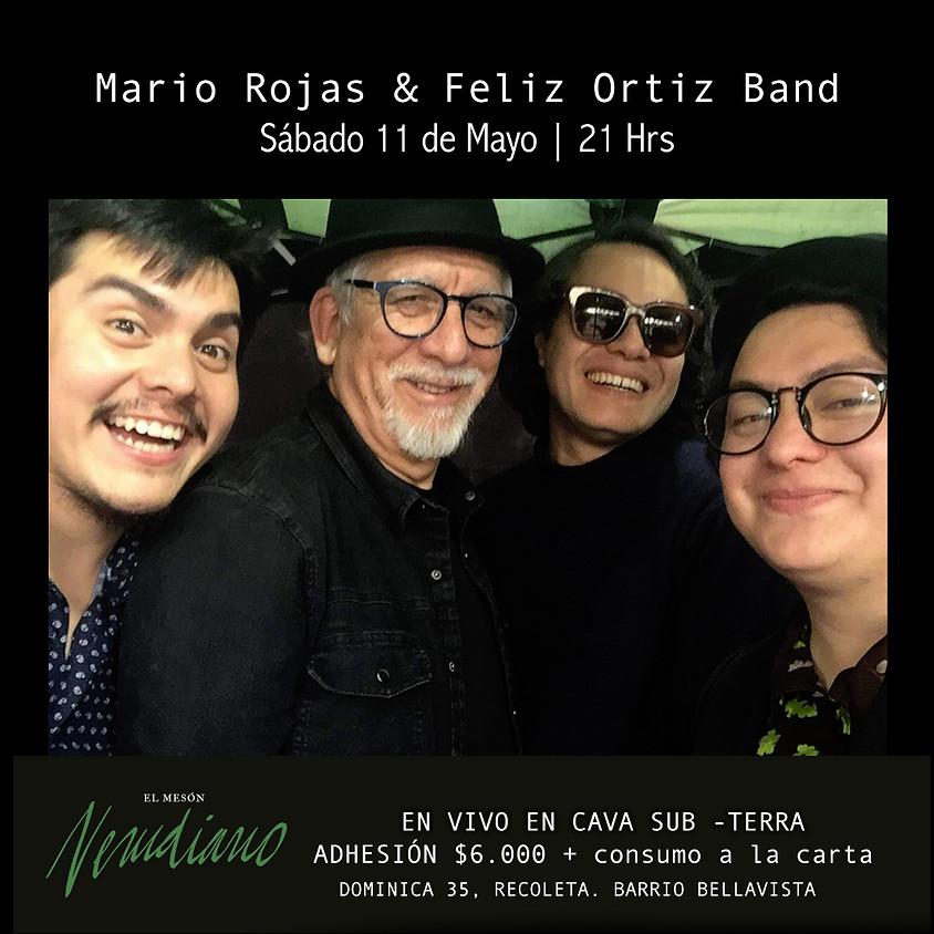 Mario Rojas & Feliz Ortiz Band: Resucitamiento de Roberto Parra