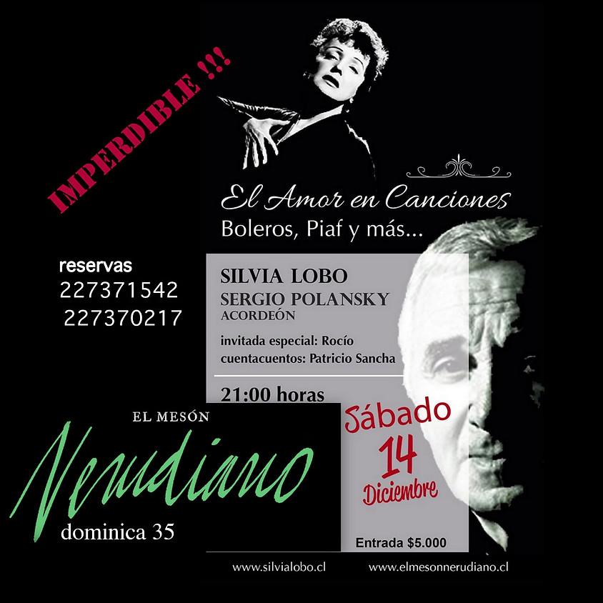 Silvia Lobo en concierto Sergio Polansky Acordeón ¡¡¡Imperdible!!! Adhesión $5.000