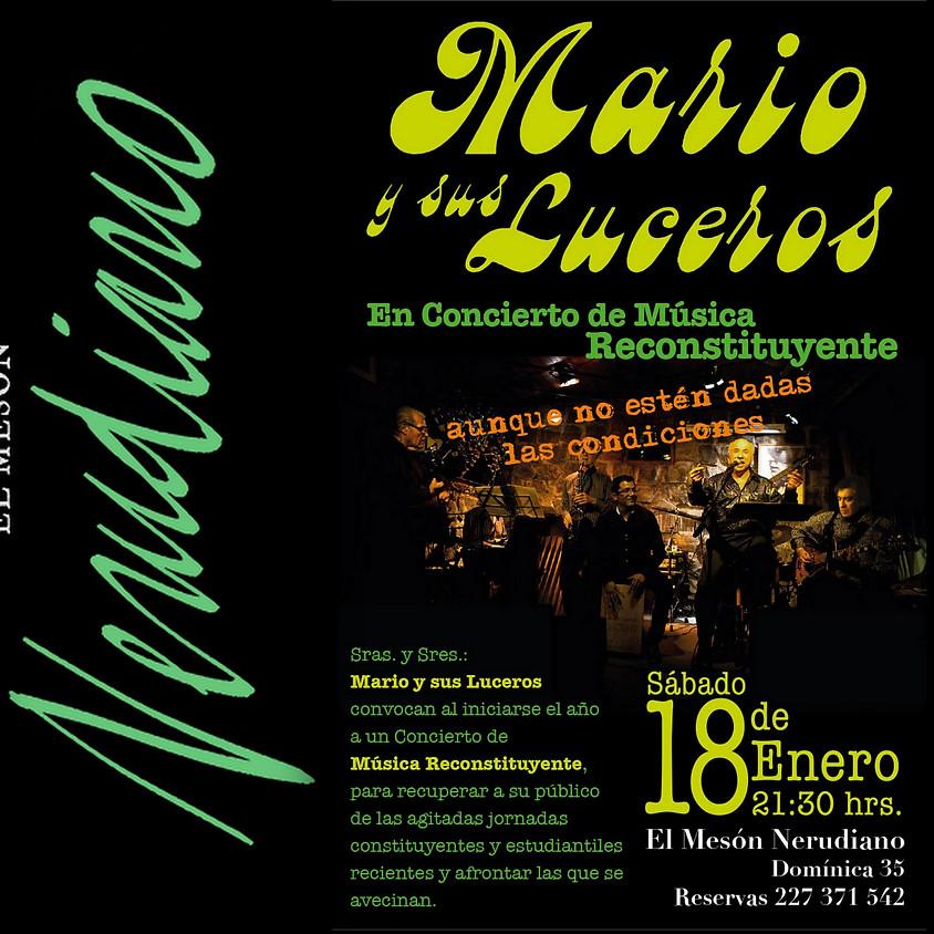 MARIO Y SUS LUCEROS ,CONCIERTO DE DE MÚSICA RECONSTITUYENTE