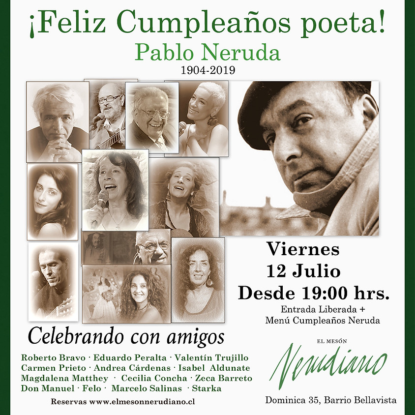 Feliz Cumpleaños Poeta!