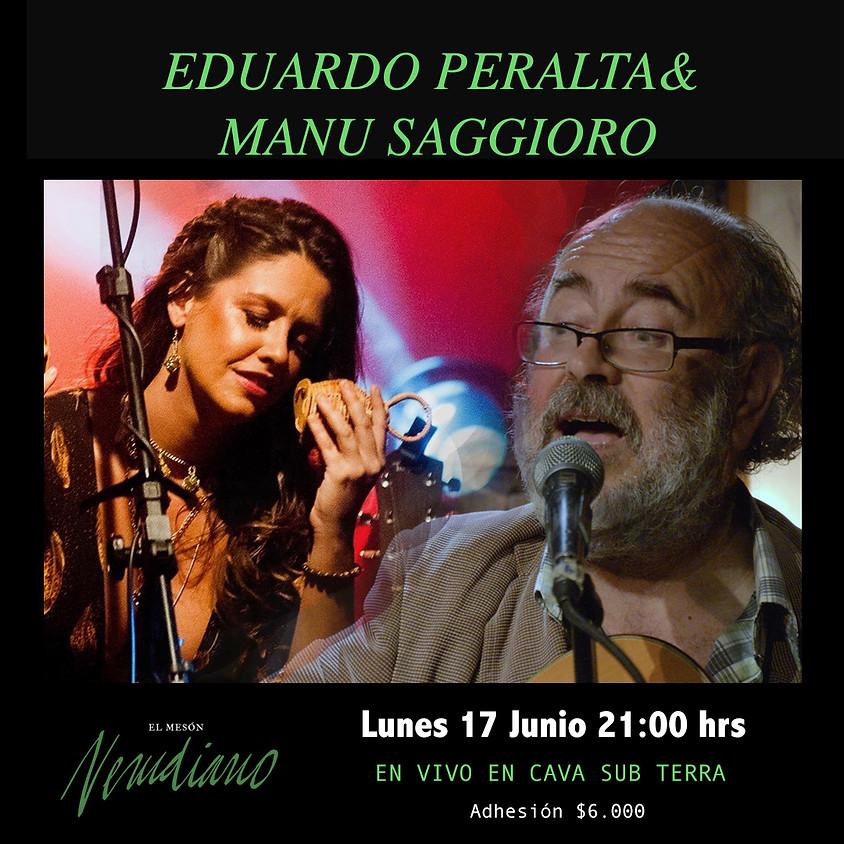 EDUARDO PERALTA & MANU SAGGIORO