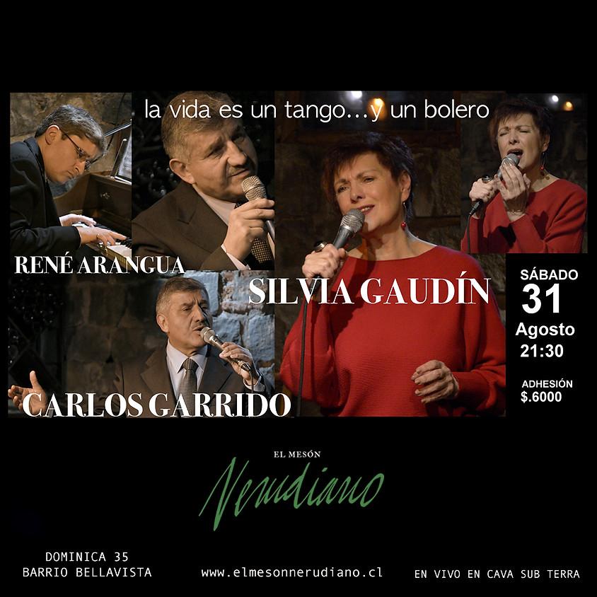 Silvia Gaudin y Carlos Garrido
