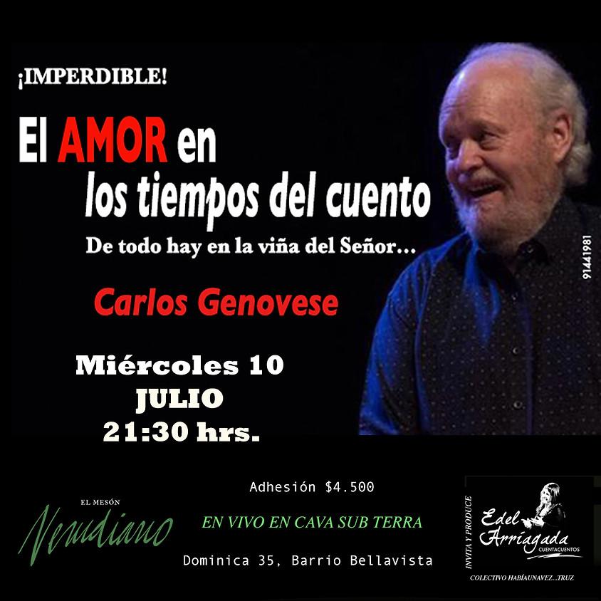 EL AMOR EN LOS TIEMPOS DEL CUENTO: Carlos Genovese