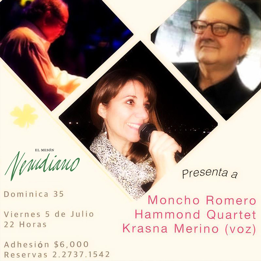 Moncho Romero Hammond Quartet