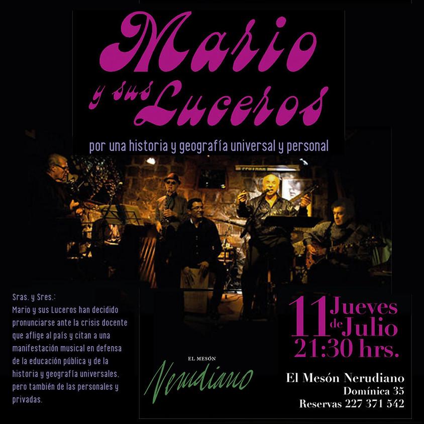 Mario y sus Luceros Por una historia y geografía universal y personal